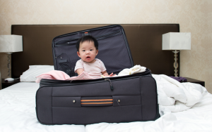 Checklist for Travelling with a Baby